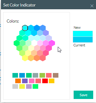 color indicator