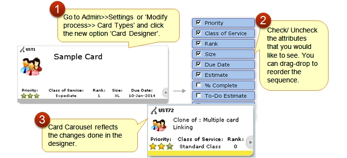 SwiftKanban Card Designer