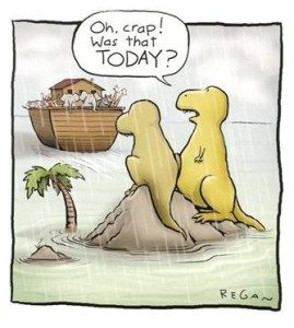 Dinosaurs and due dates