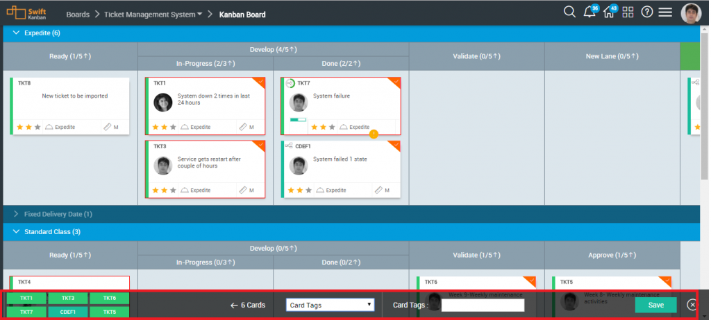 SwiftKanban Board