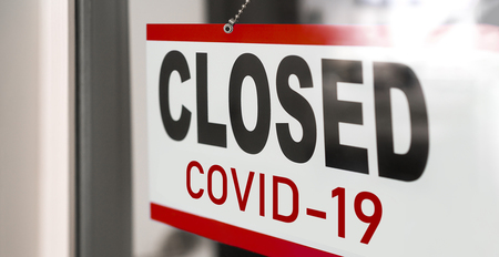 Closed businesses for COVID