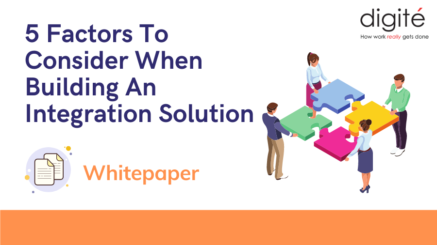 5 Factors To Consider When Building An Integration Solution